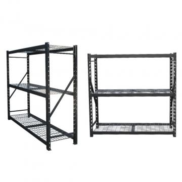 Heavy duty metal 5 tier adjustable shelving storage rack