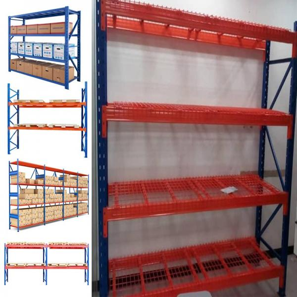 light duty 4 layer storage rack for warehouse cold rolled steel shelves #2 image